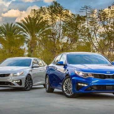 2019 Kia Optima Pair