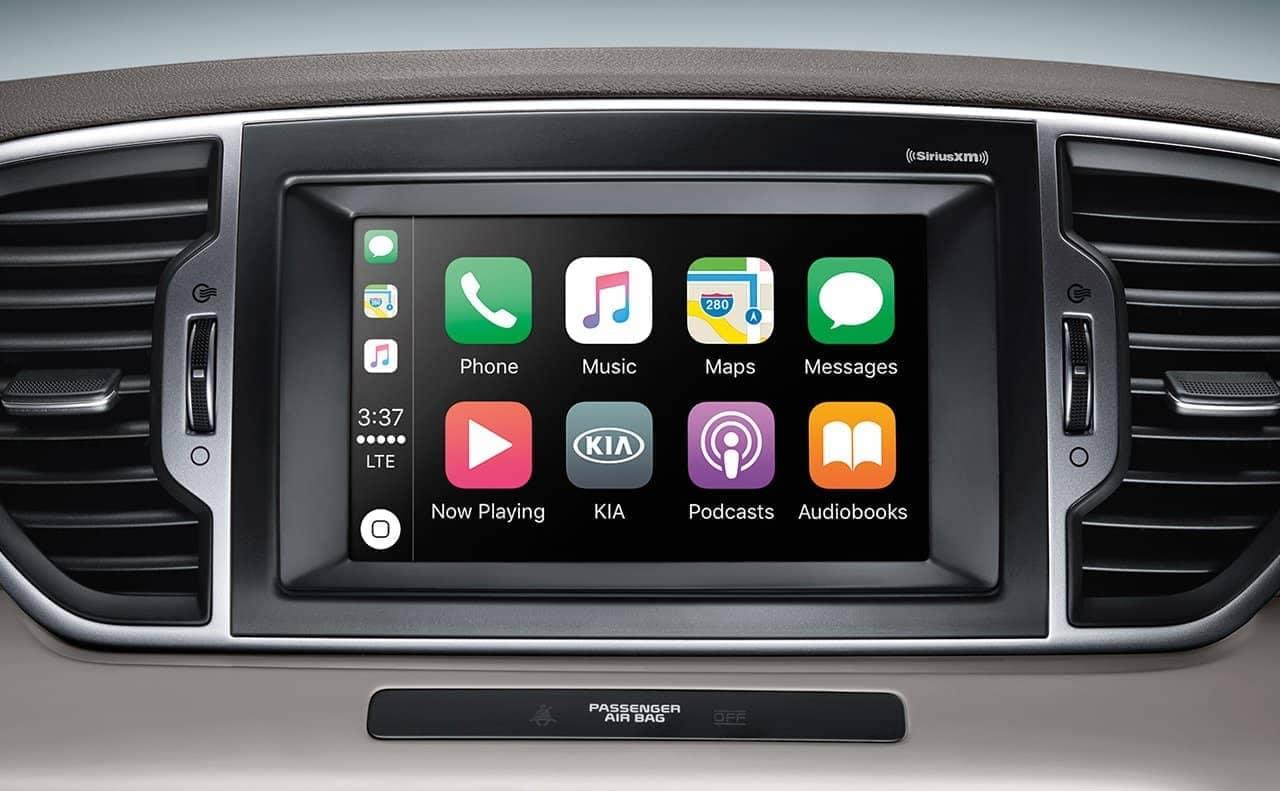 2019 Kia Sportage Touchscreen