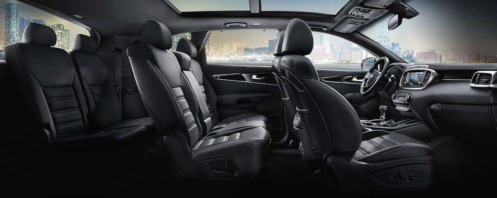 2019 sorento full interior view