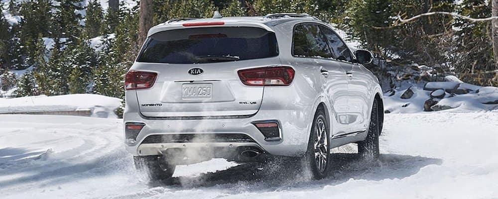 2019 sorento driving in snow