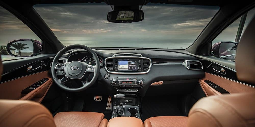 infotainment display in 2019 sorento