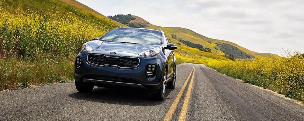 2019 sportage driving on highway