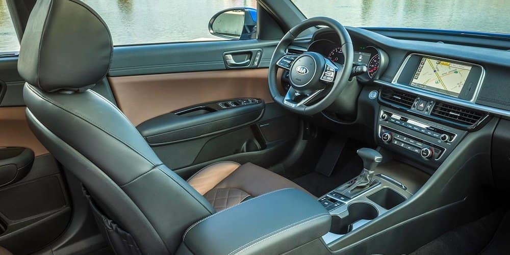 2019 Kia Optima Front Interior