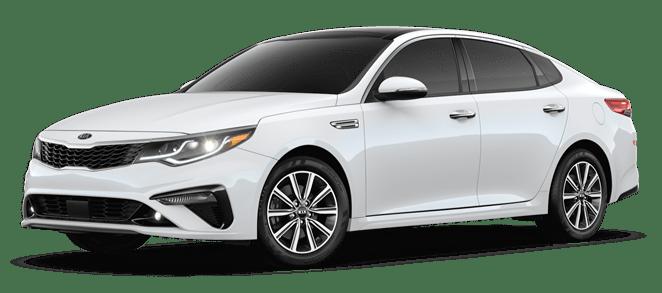 2019 Pearl White Kia Optima EX