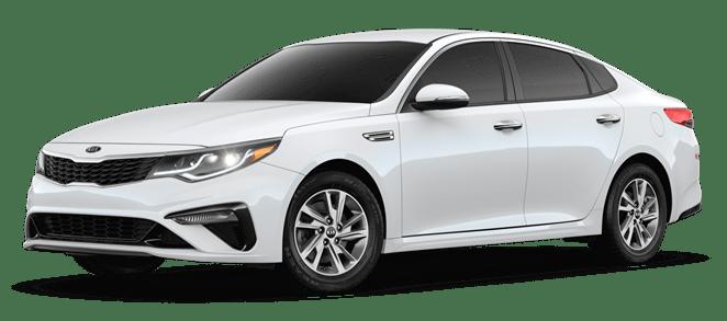 2019 Pearl White Kia Optima LX
