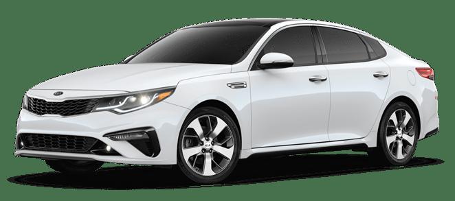 2019 Pearl White Kia Optima S