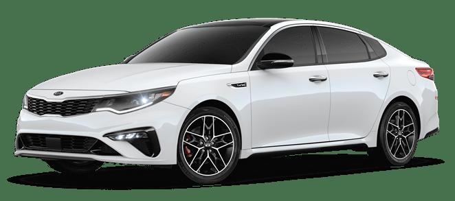 2019 Pearl White Kia Optima SX