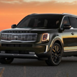 2020 Kia Telluride on Desert Highway