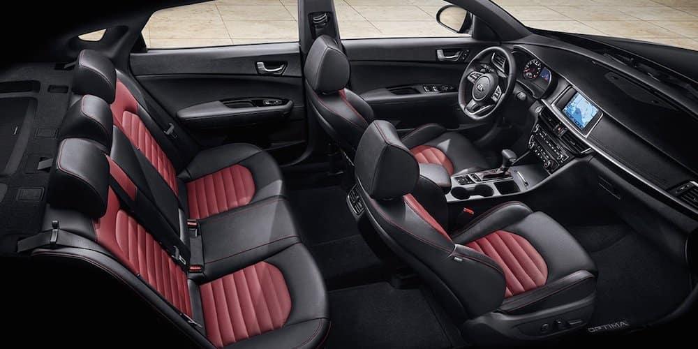 2019 Kia Optima SX Wide Interior View