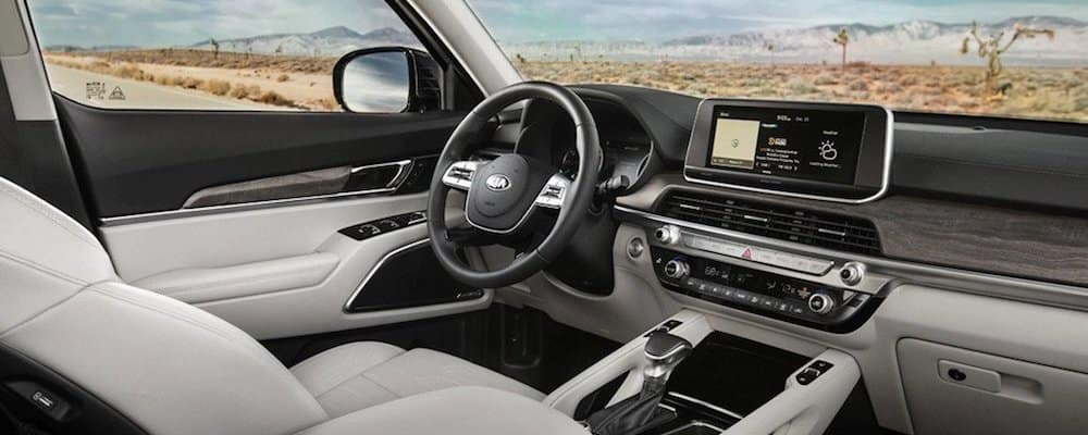 2020 Kia Telluride Front Interior and Dash