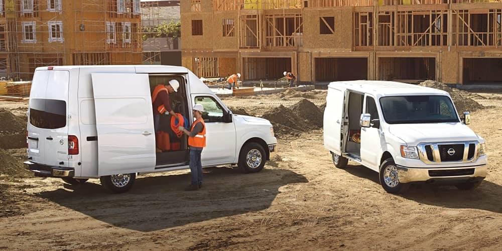 2018 Nissan NV Cargo On Jobsite