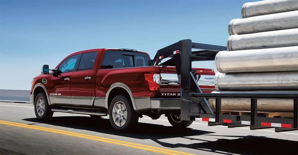 2018 Nissan Titan XD Towing