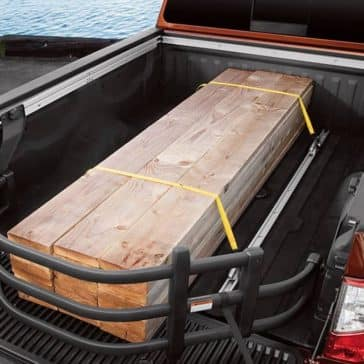 2018 Nissan Titan Bed