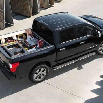 2018 Nissan Titan Overhead View
