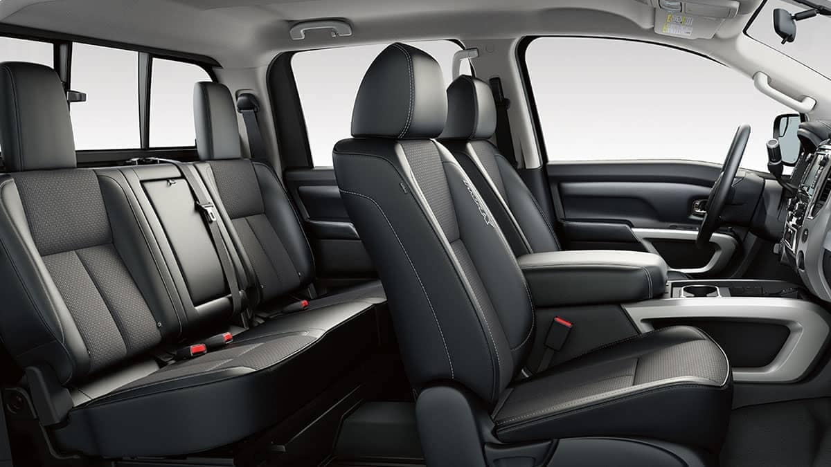 2018 Nissan Titan Seating
