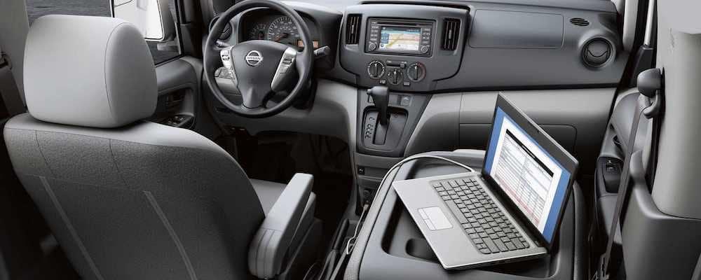 2019 nv200 front interior
