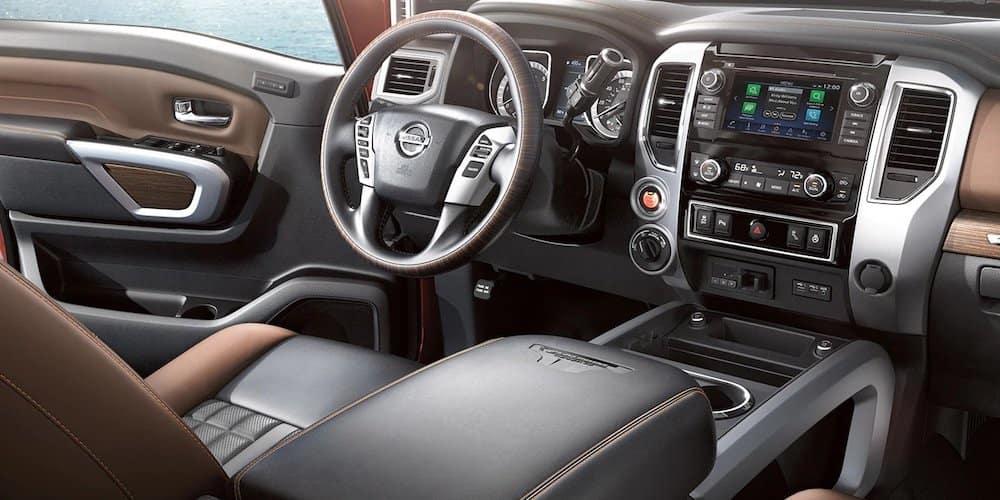 2019 titan xd front interior