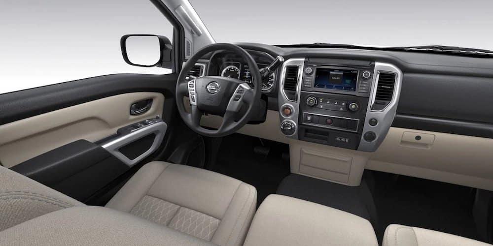 2019 Nissan Titan Front Interior and Dash