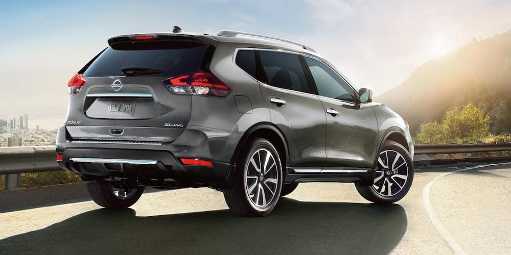 2020 Nissan Rogue Parked on Highway