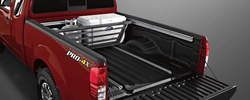 2020 Nissan Titan Open Truck Bed