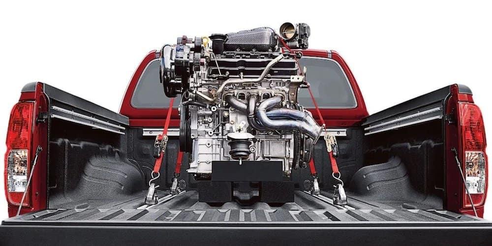 Nissan Frontier Hauling Engine