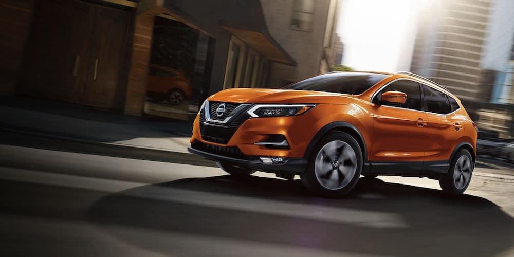 Orange 2020 Nissan Rogue Sport in City