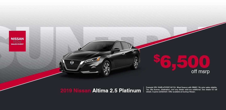 Altima 2.5 Platinum