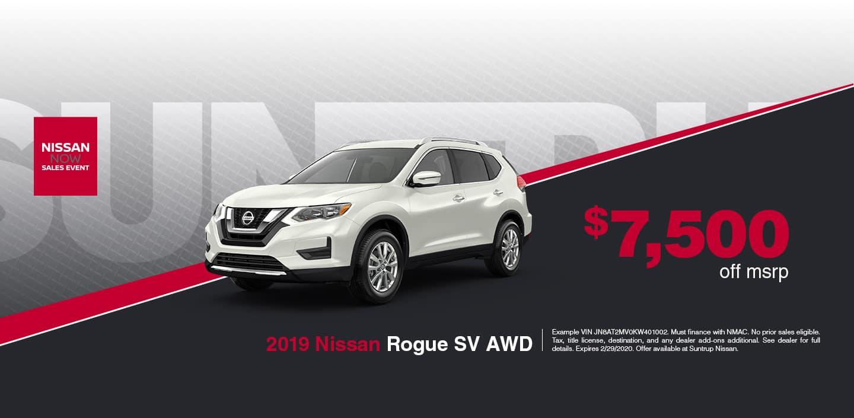 Rogue SV AWD