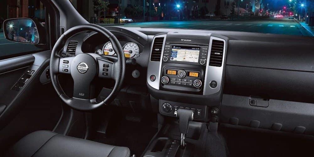 2019 Nissan Frontier Front Interior