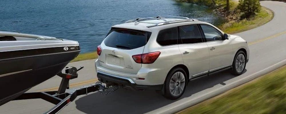 2020 Nissan Pathfinder Towing Boat