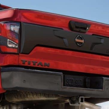 2020 Nissan Titan Rear