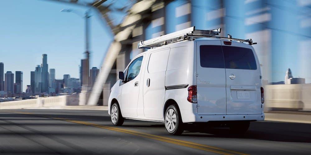 White 2020 Nissan NV200 Compact Cargo Van