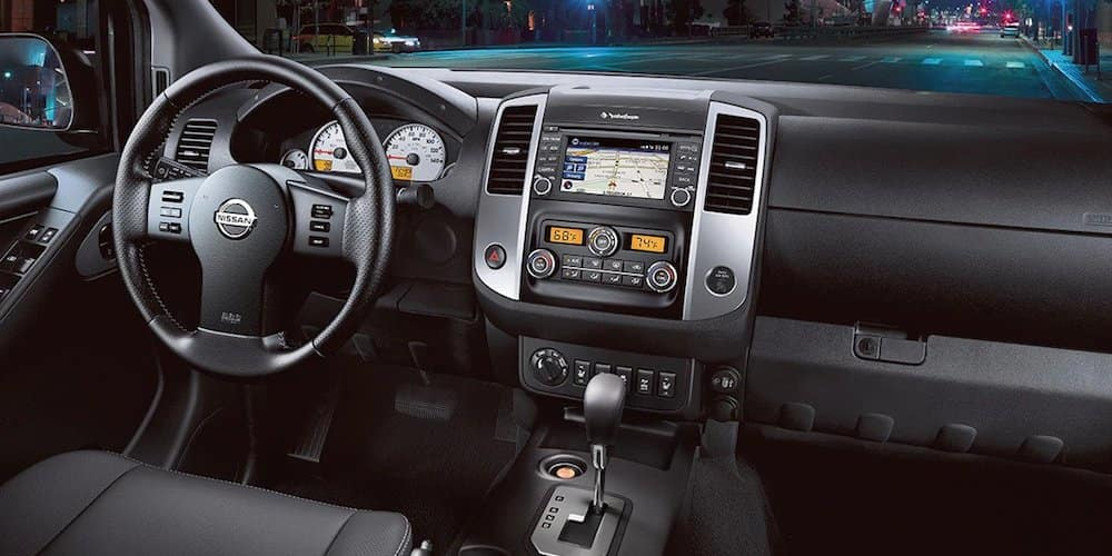 2020 Nissan Frontier Front Dash