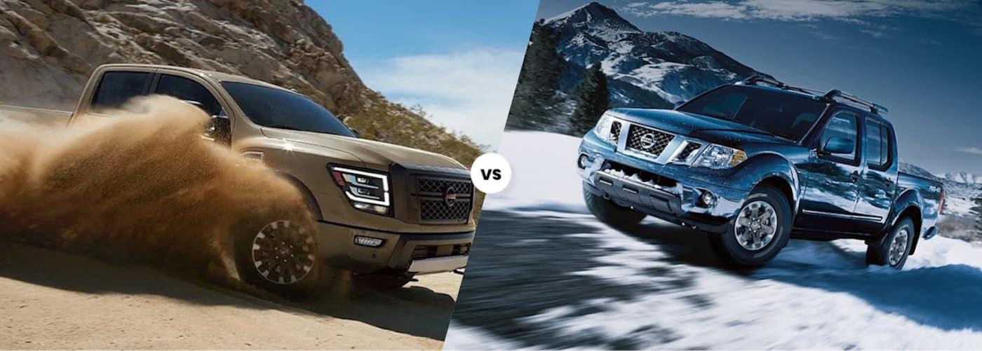 2020 Nissan Titan vs. 2020 Nissan Frontier