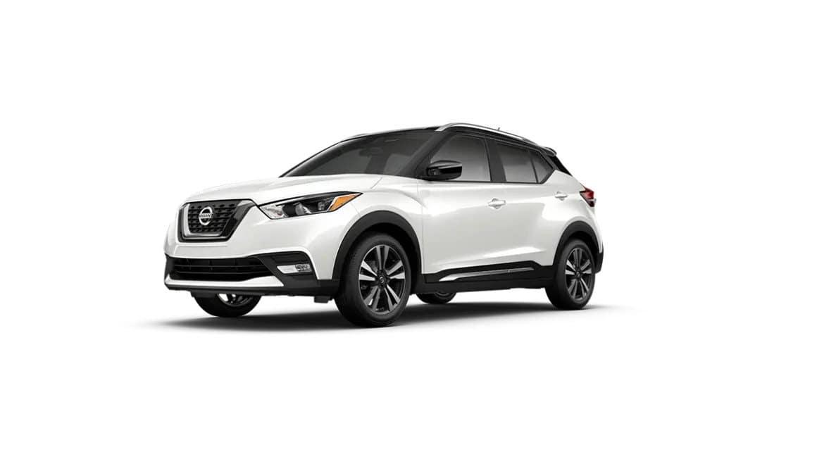 2020 Nissan Kicks Aspen White TriCoat Black Roof