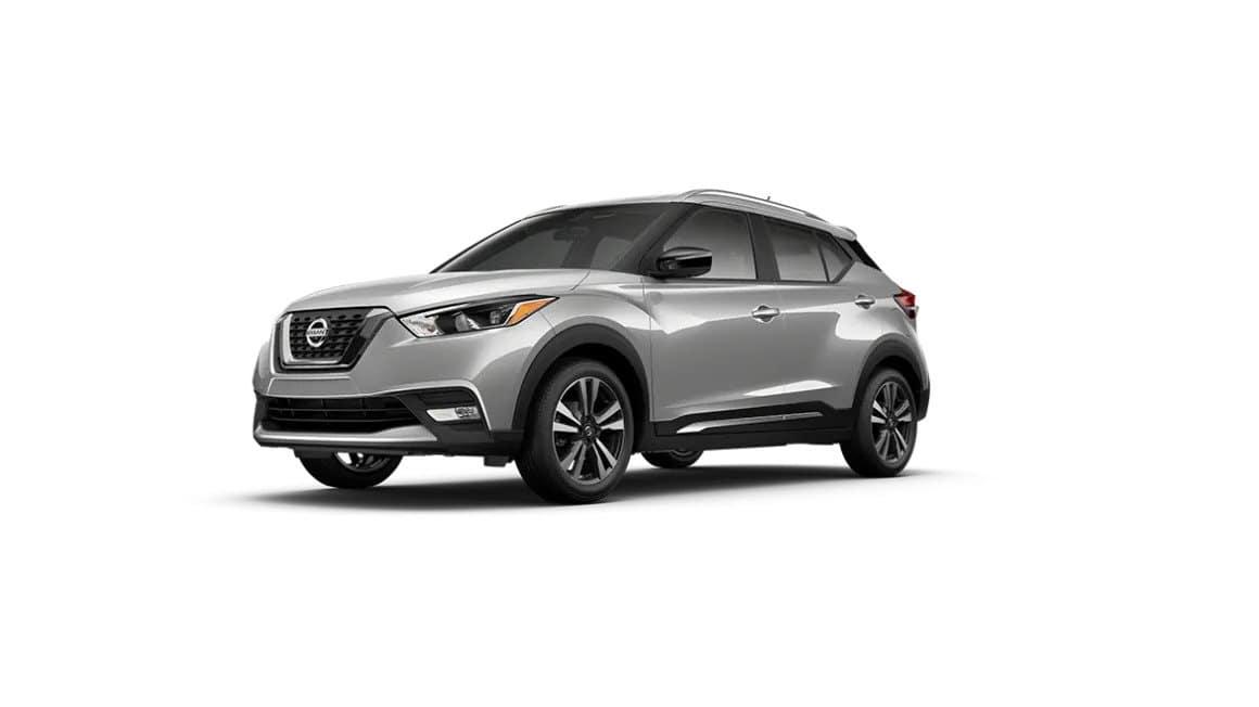 2020 Nissan Kicks Brilliant Silver Metallic