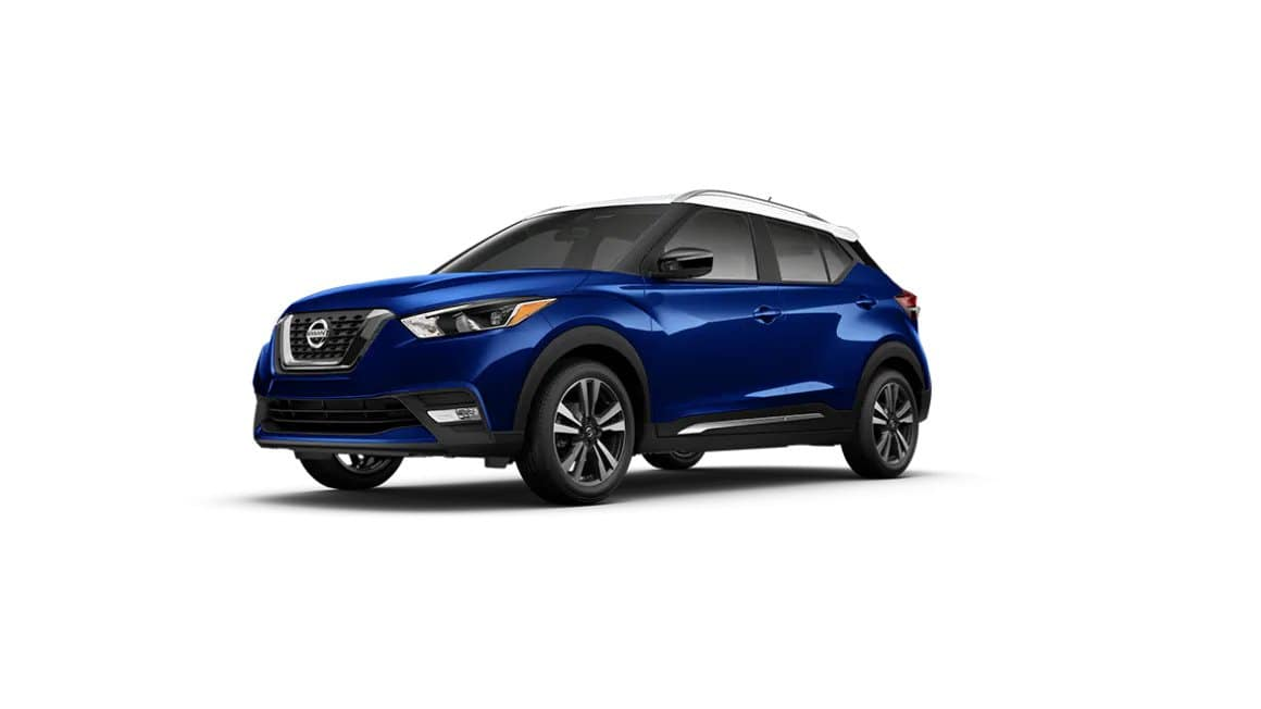 2020 Nissan Kicks Deep Blue Pearl Powder Roof