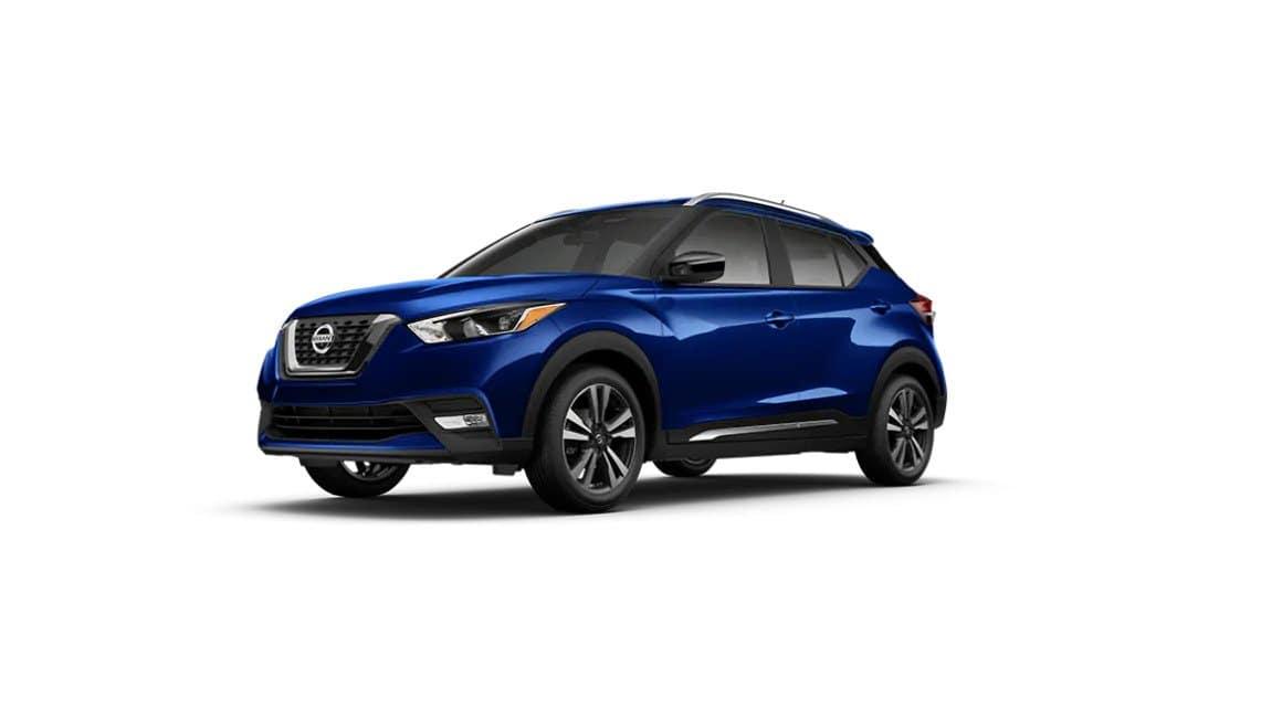2020 Nissan Kicks Deep Blue Pearl