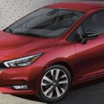 Red Nissan Versa