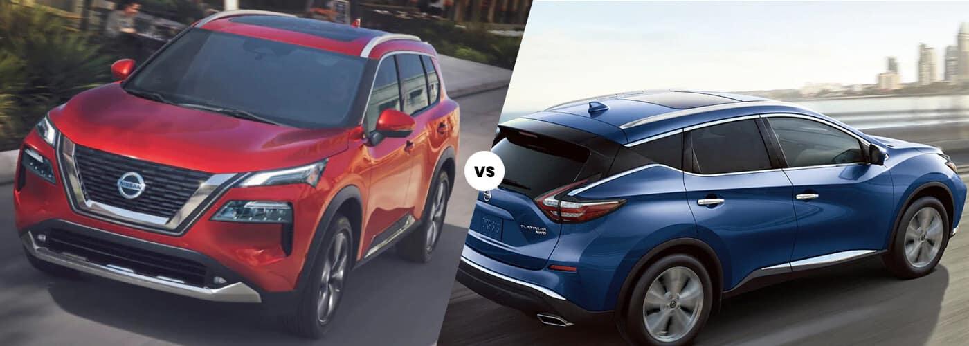 2021 Nissan Rogue vs 2021 Nissan Murano