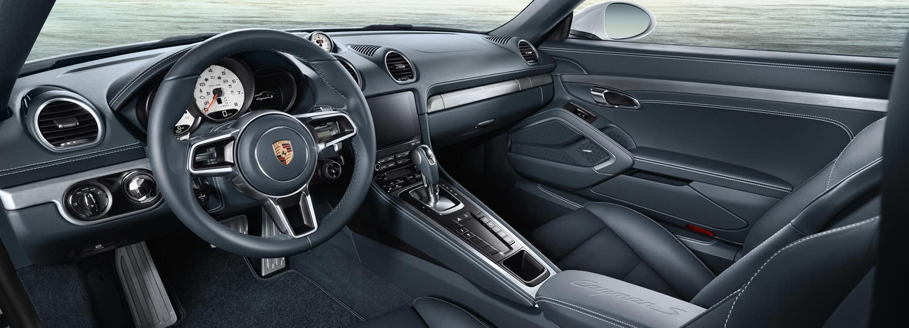 2019 Cayman Interior