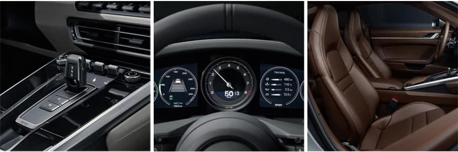 2020 Porsche 911 Interior