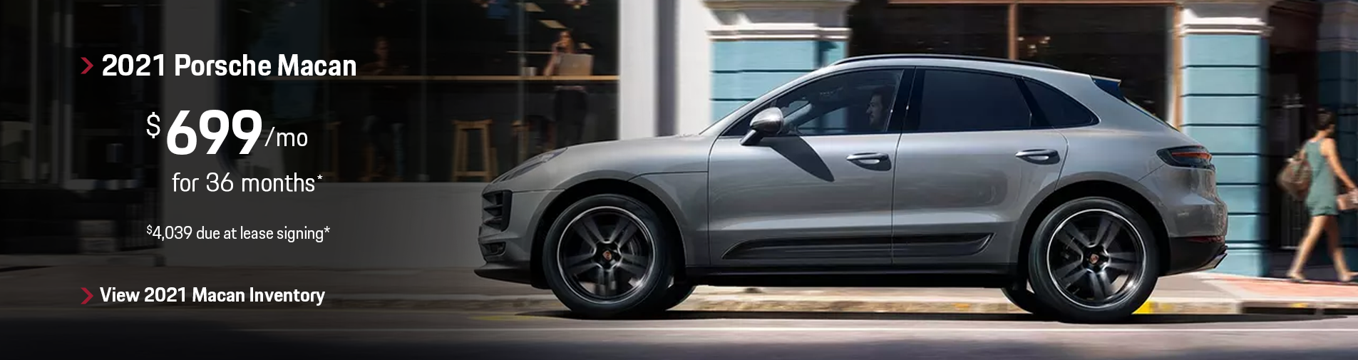 2021 Porsche Macan Lease Offer