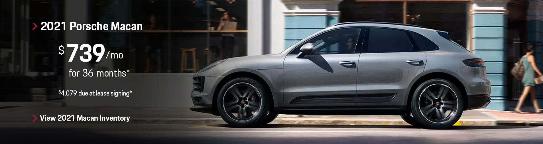 2021 Porsche Macan Lease Special