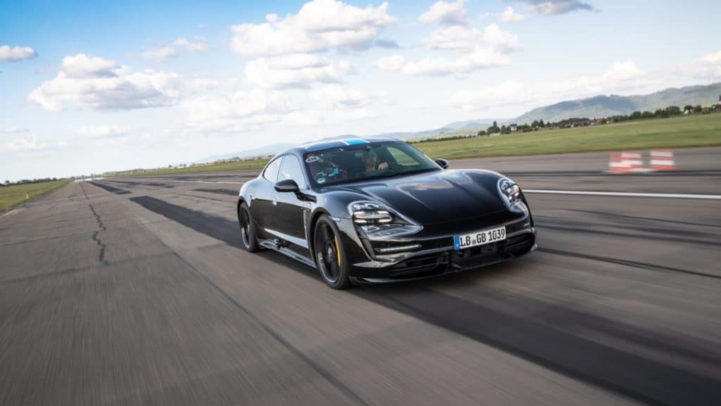 2020 Porsche Taycan Proves High-Performance Reliability