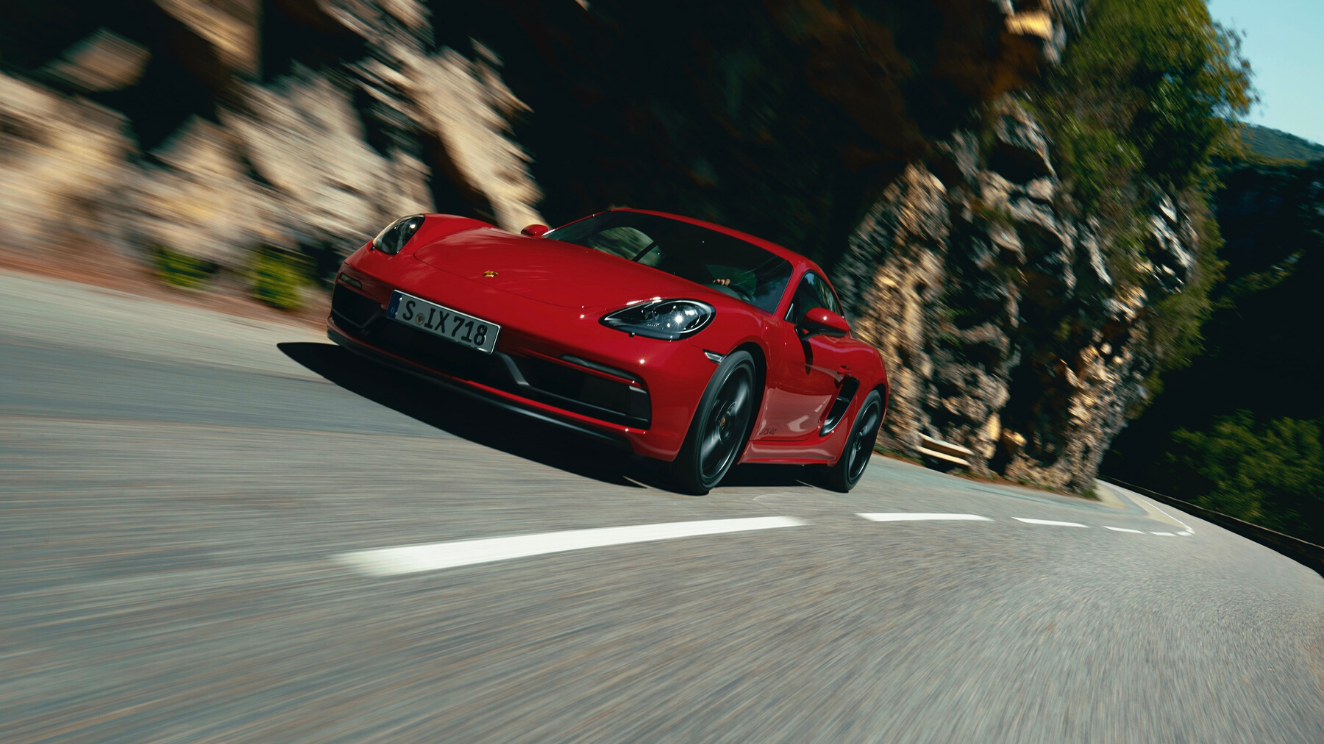The new 718 Cayman GTS 4.0