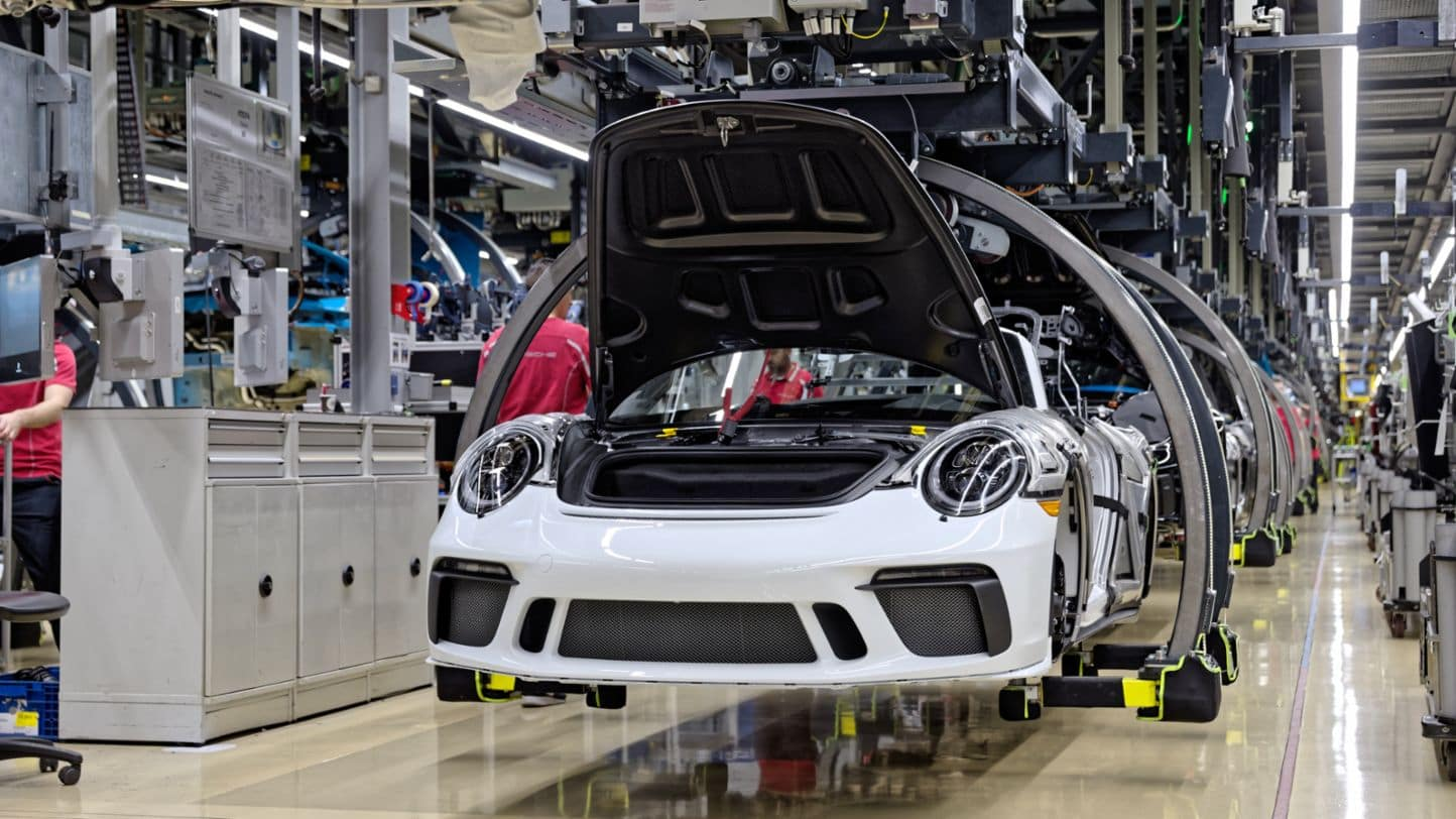 The last 991 Porsche 911