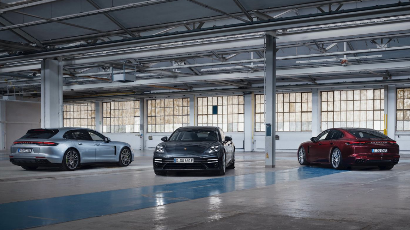 Porsche Launches Three New Panamera Models for 2021