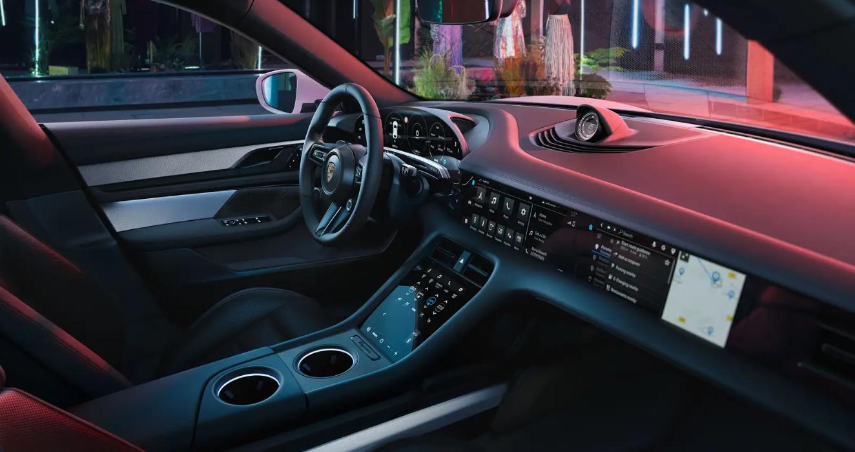 Porsche Taycan Cross Turismo Interior