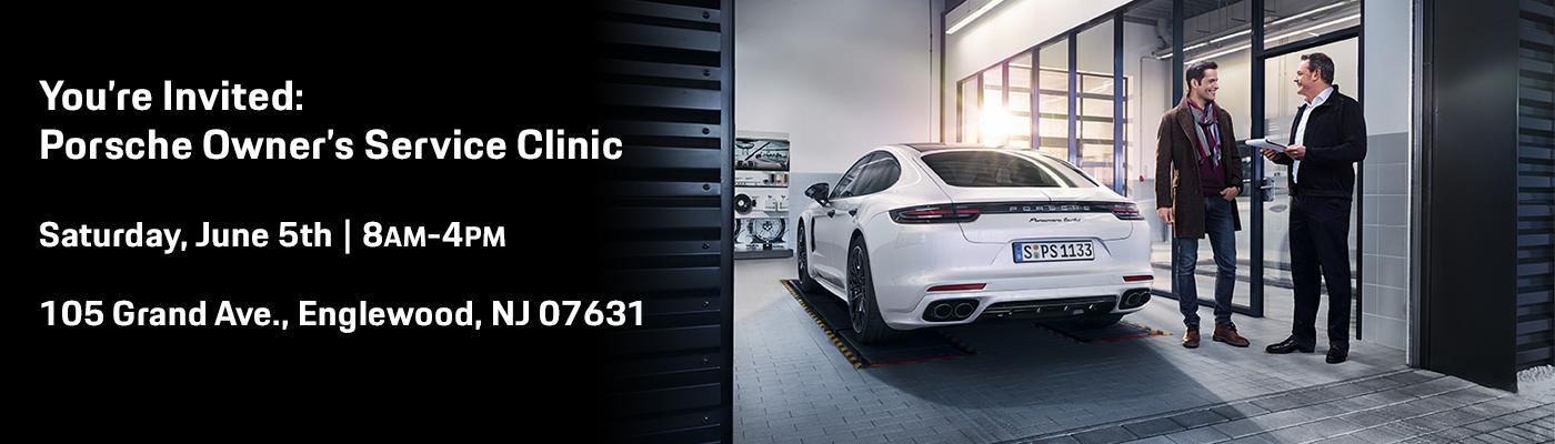 Porsche Englewood's Porsche Owner's Clinic